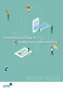 Poster thumbnail: Protecting privacy is everybody's responsibility