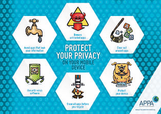 Poster: Protect your privacy on your mobile device.