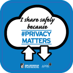 Poster 7: I share safely because #PrivacyMatters. Office of the Privacy Commissioner for Personal Data, Hong Kong. APPA.